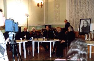 Pressekonferenz in Ekaterinburg